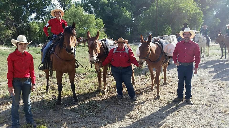 Mule Packing Team 2016
