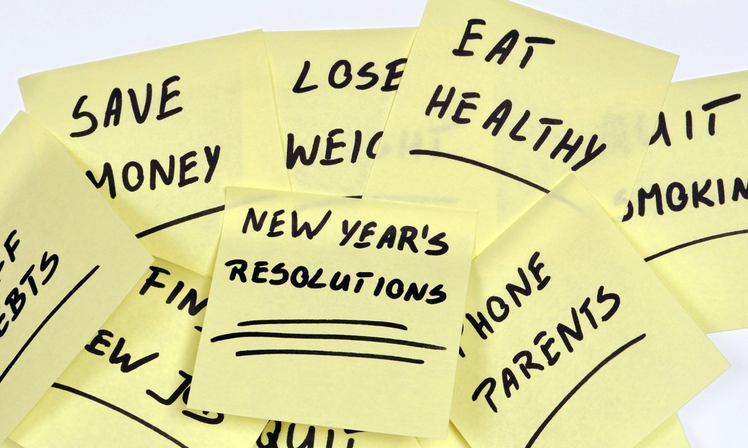 Only 8% of New Year's Resolutions are kept after 12 months