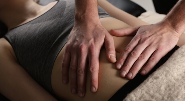 Abdominal palpation is an important part of diagnosis for many of our patients