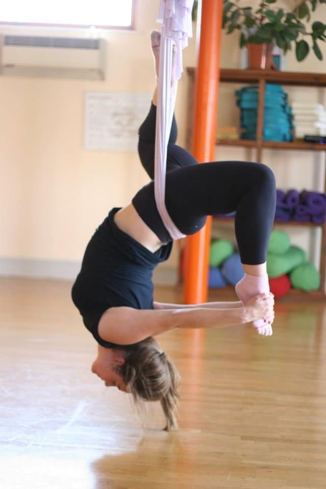 Julie Bolitho Lee - Aerial Yoga
