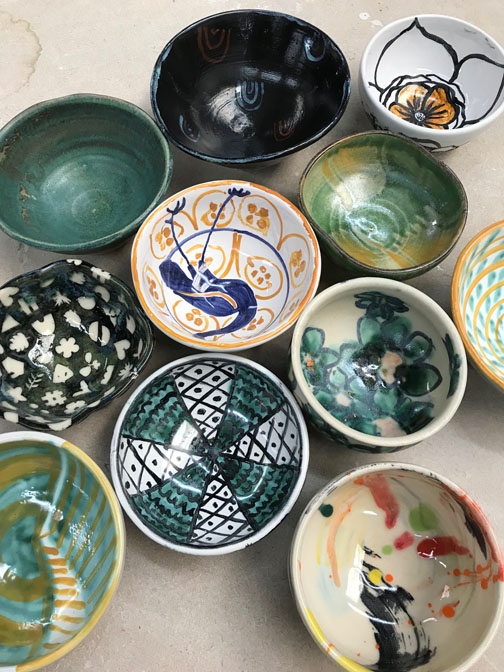 sneak peak at some of the 2019 bowls………