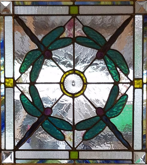Leaded glass panel - Lisa C. Green