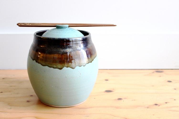 fermentation crock - Miki Palchick