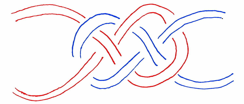 Step 2. Diagram of headband cords