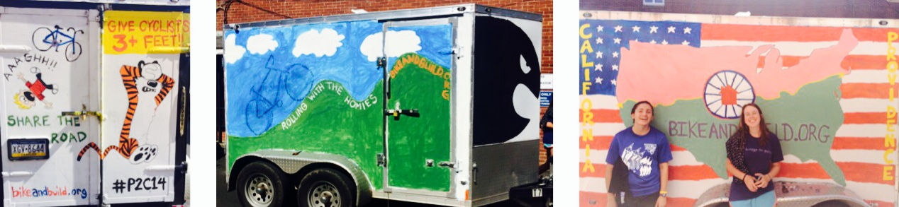 Our trailer, all 3 sides!