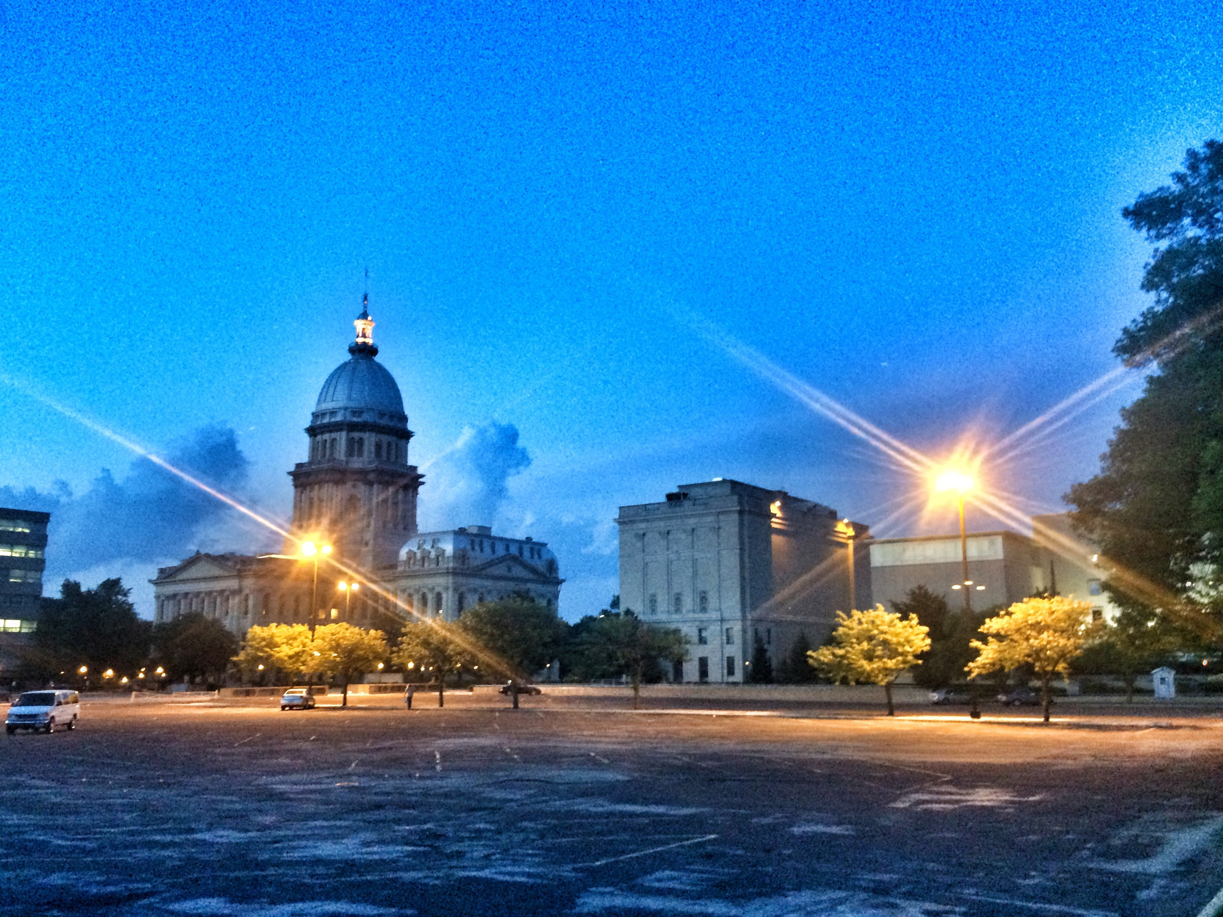 Springfield in the evening