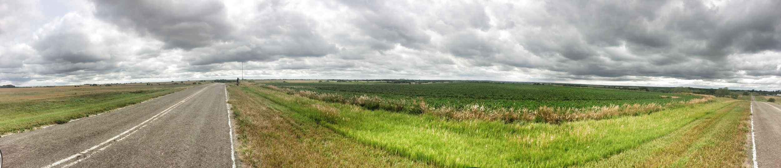 The low grey clouds and flat horizon is what I'll always remember of Nebraska