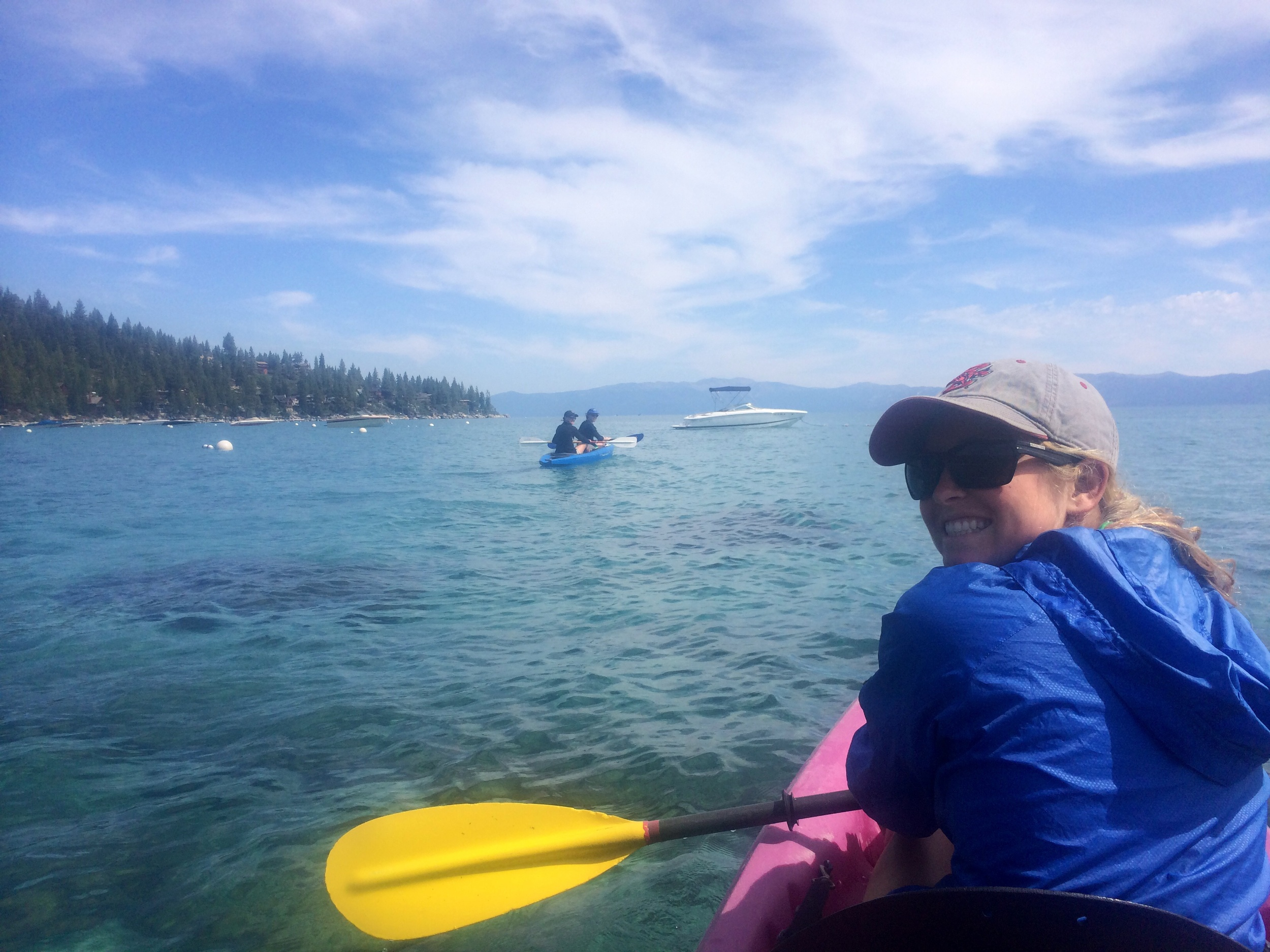 Kayaking with Beth!