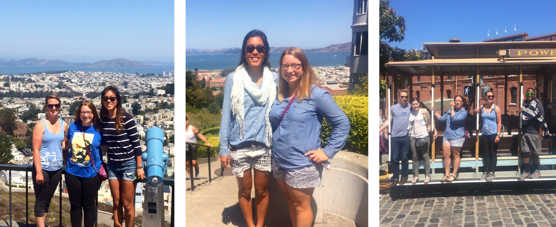 Being tourist-y in San Francisco
