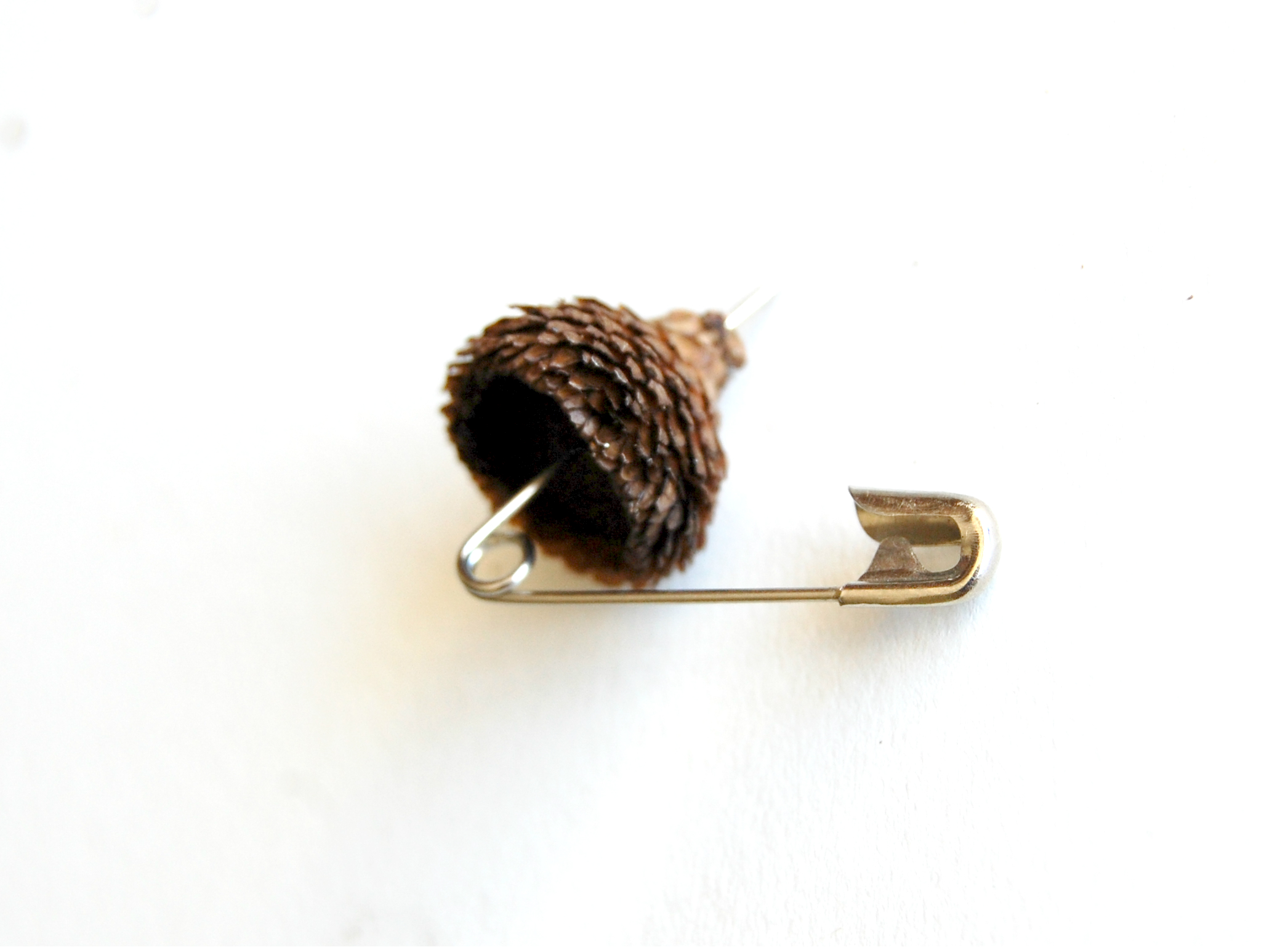 Acorn Safety Pin