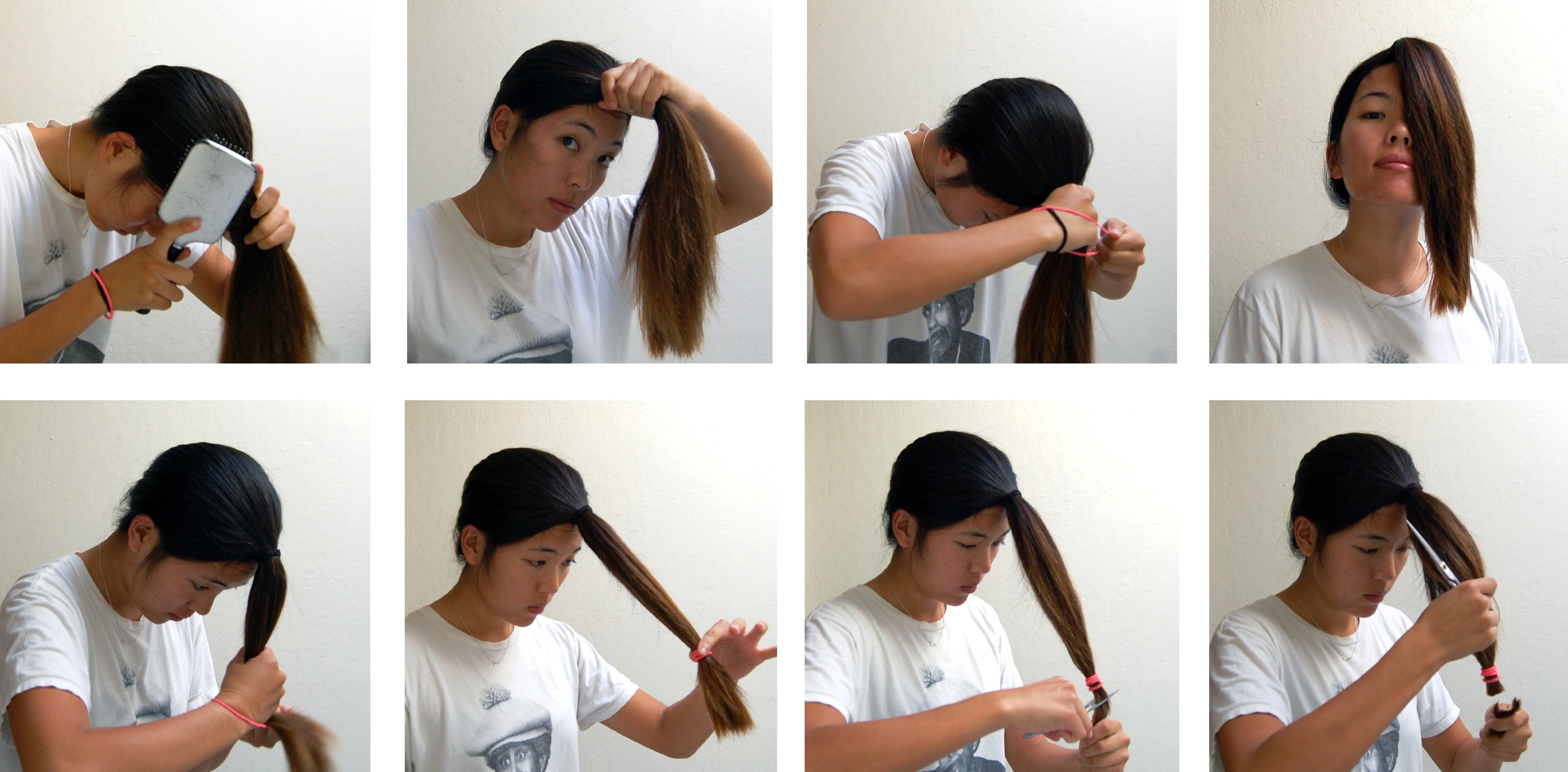 A DIY Layered Haircut How to cut your hair at home!
