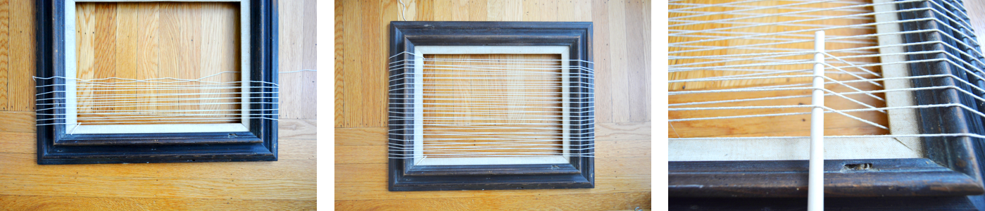 Woven Wall Hanging Tapestry - Loom Assembly 2