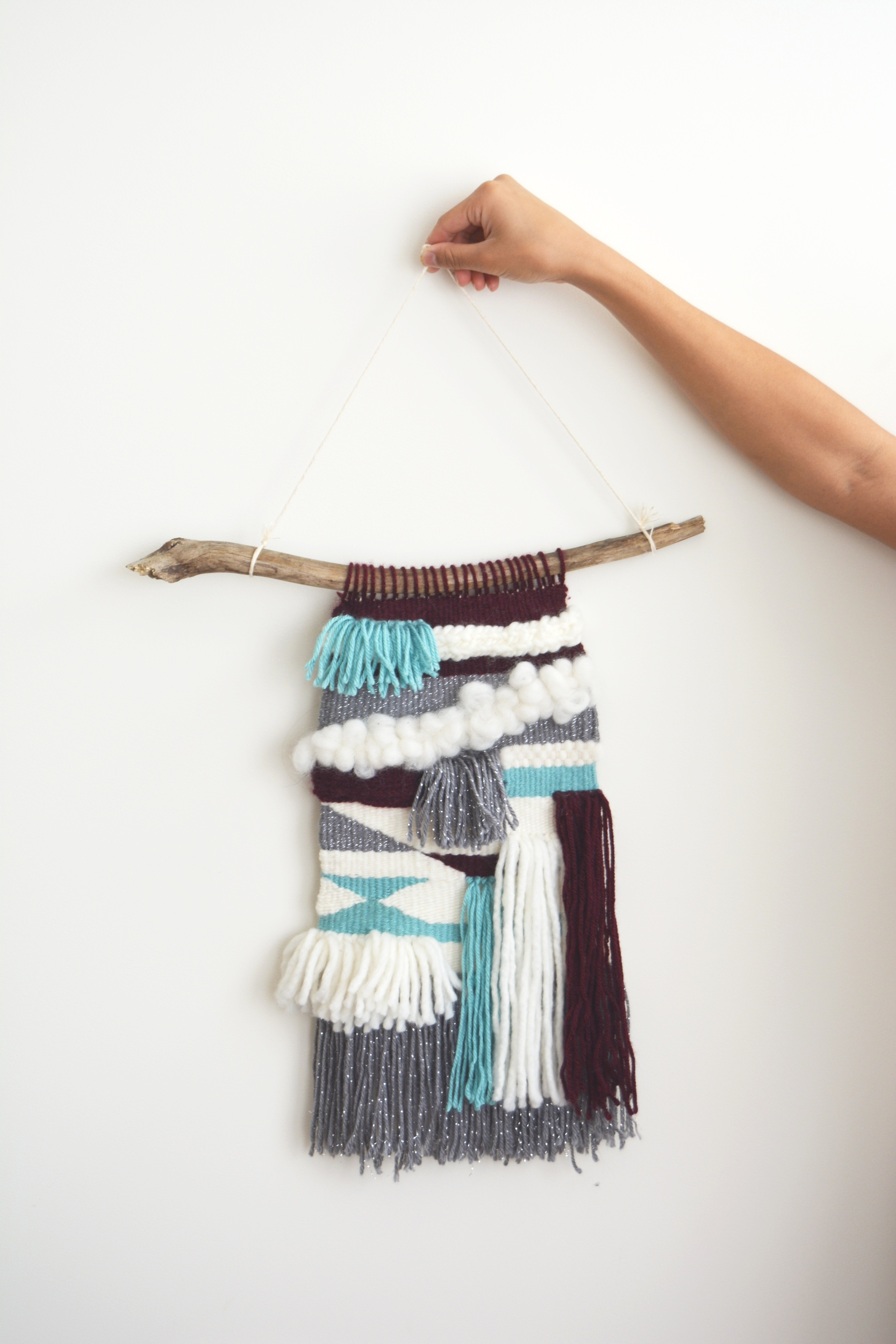 Woven Wall Hanging Tapestry - Holding