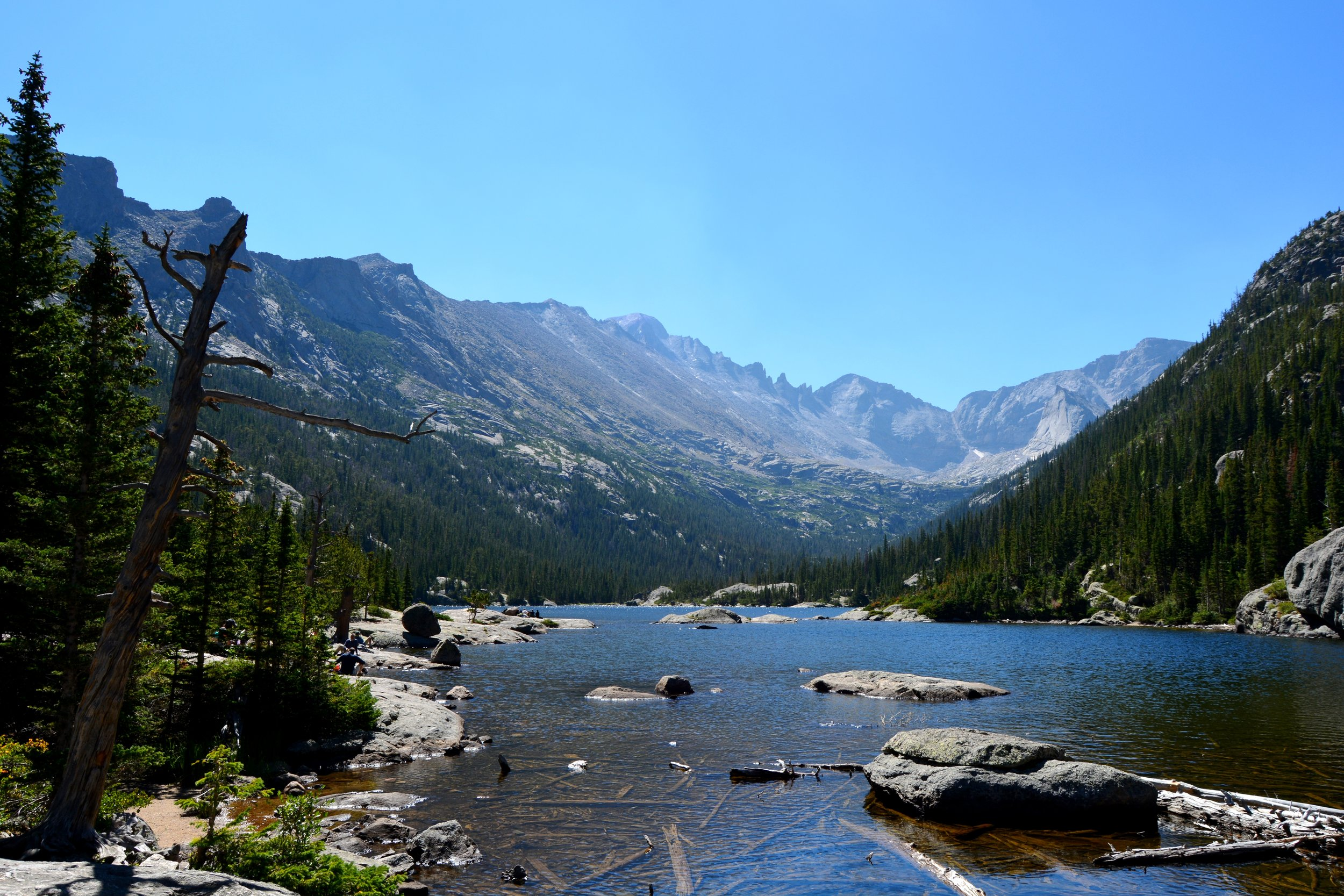 Mills Lake - so calm and beautiful!