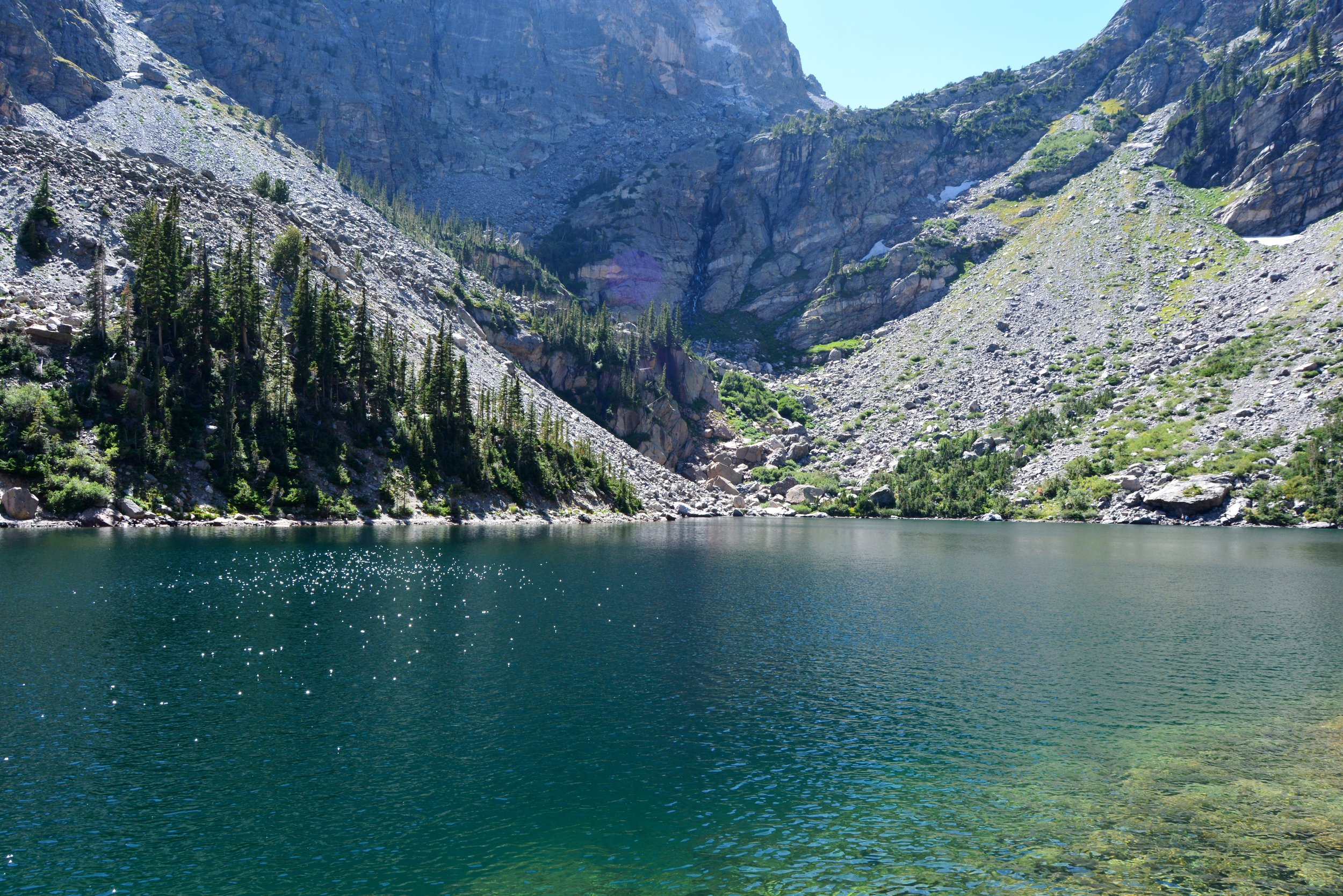 And my favorite, Emerald Lake. The water was such a beautiful deep hue, and it was the perfect place to reflect on how wonderful life is :)