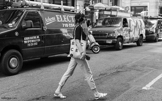 I'm bringing this 'gram back... - #ajfergusphotography #streetphotography #soho #newyorkcity #monochrome #nikond750 #women #blackandwhitephotography