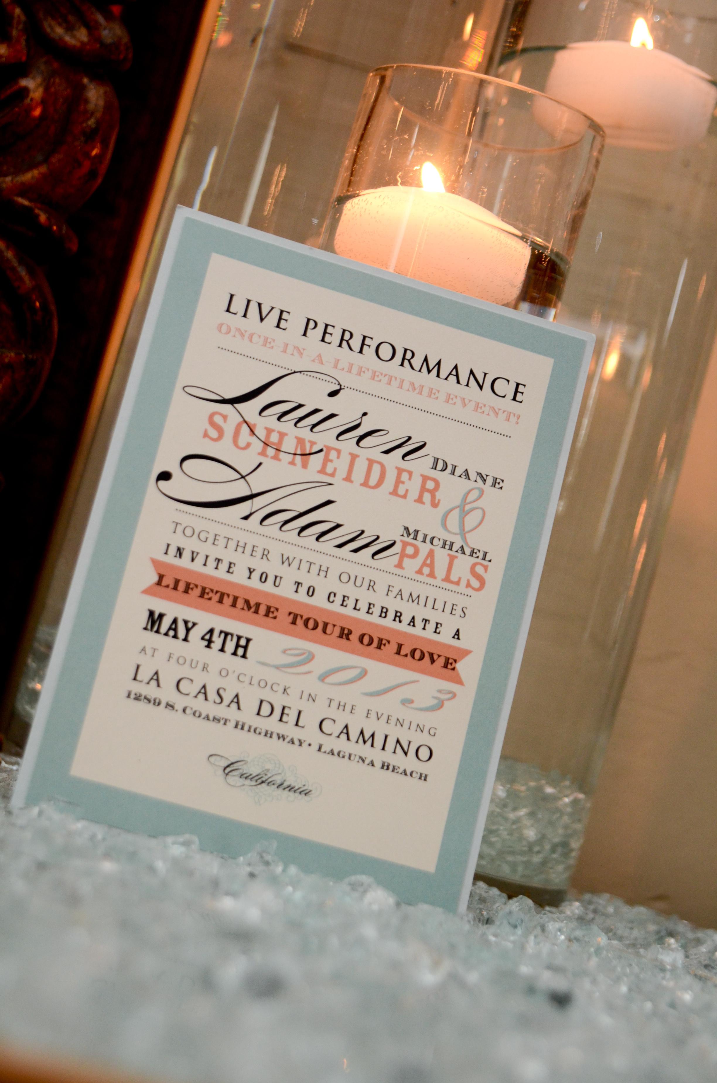 Lauren Invitation