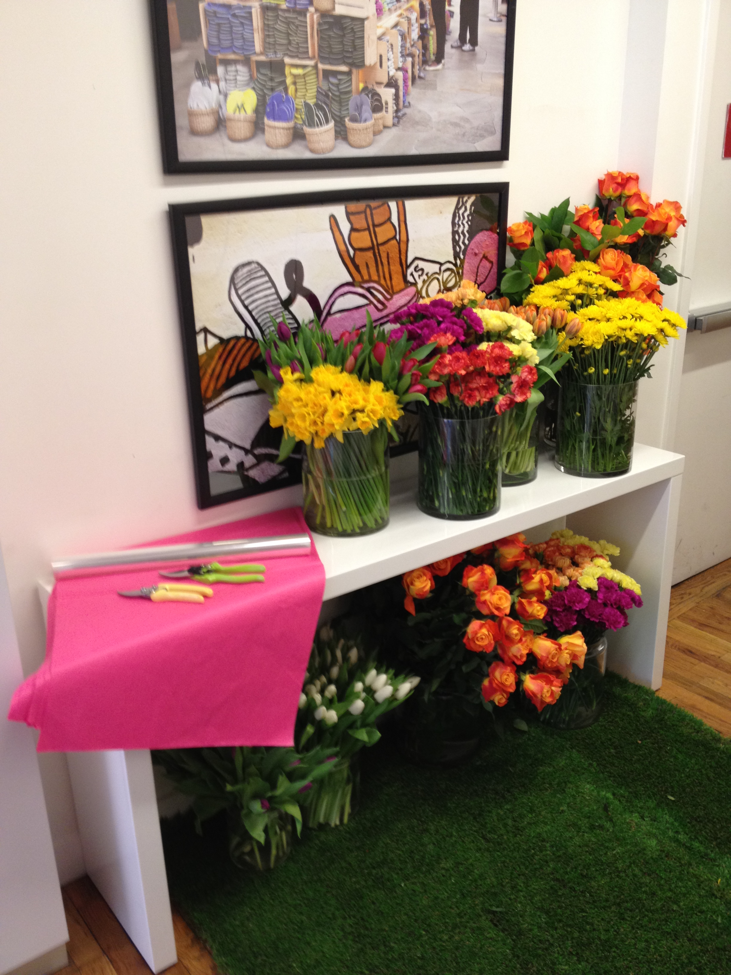 Havaiana's Editor Event - Do It Yourself Bouquets