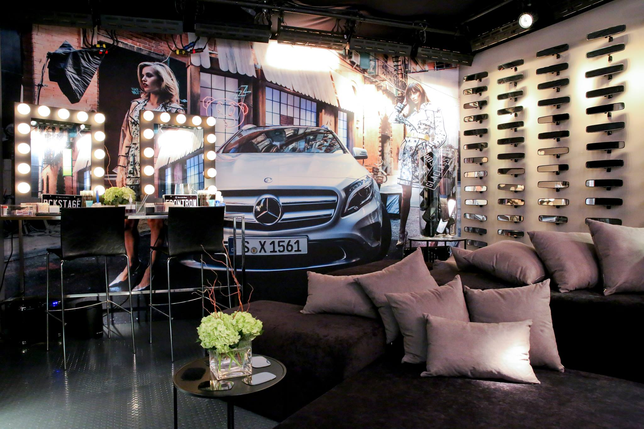 VIP Lounge at Mercedes Benz Fashion Week