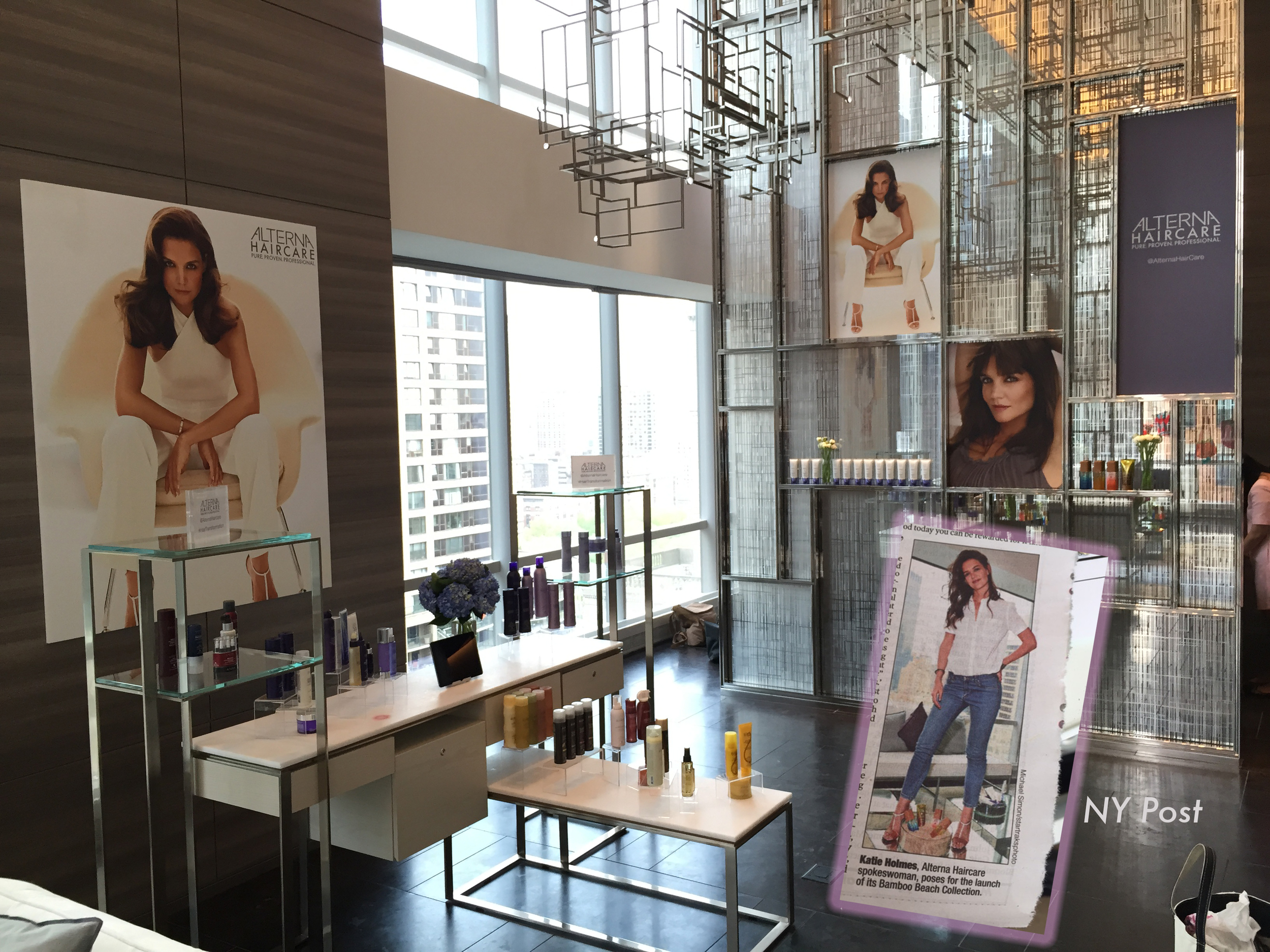 Alterna Event for Katie Holmes at The Park Hyatt