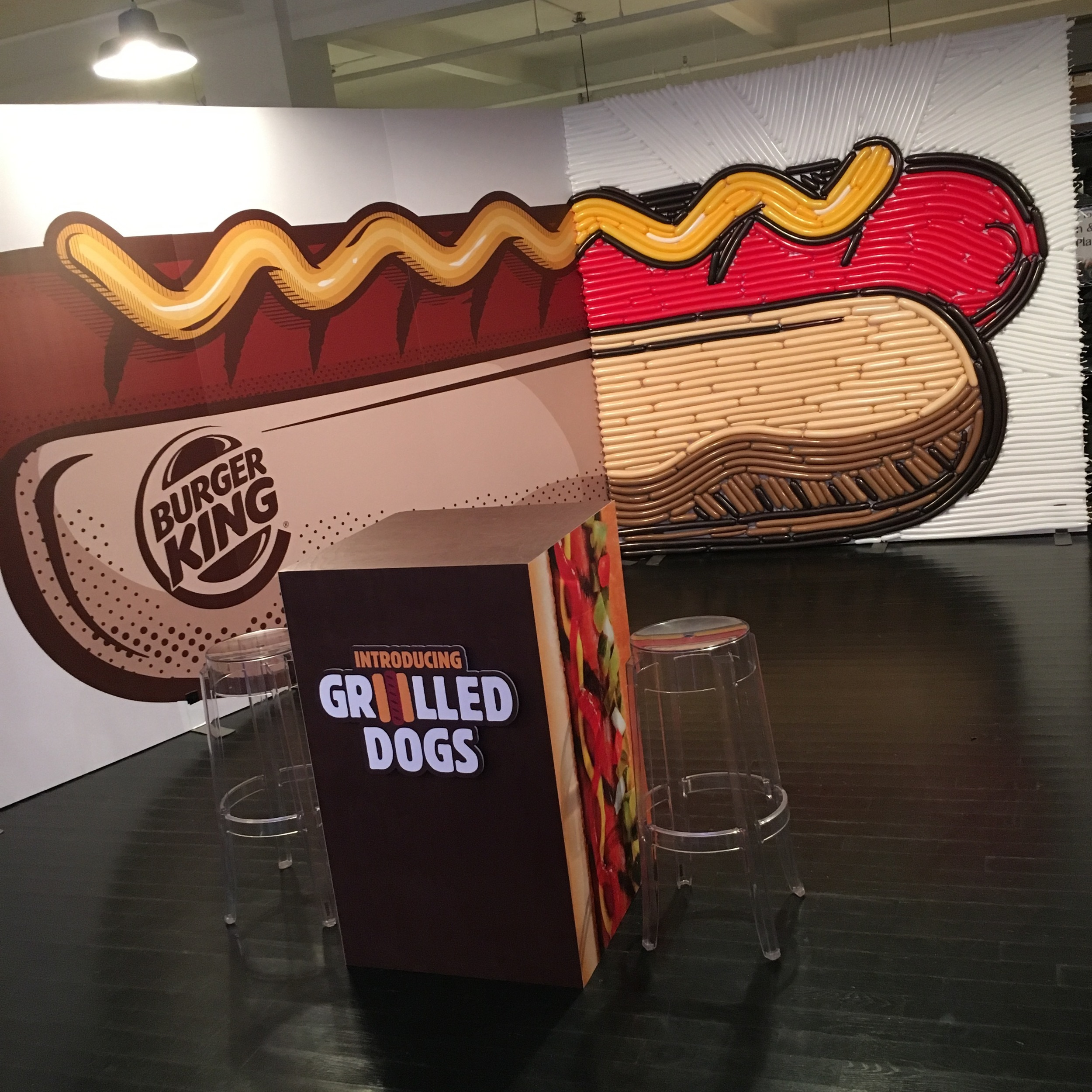 Burger King Grilled Dogs Launch