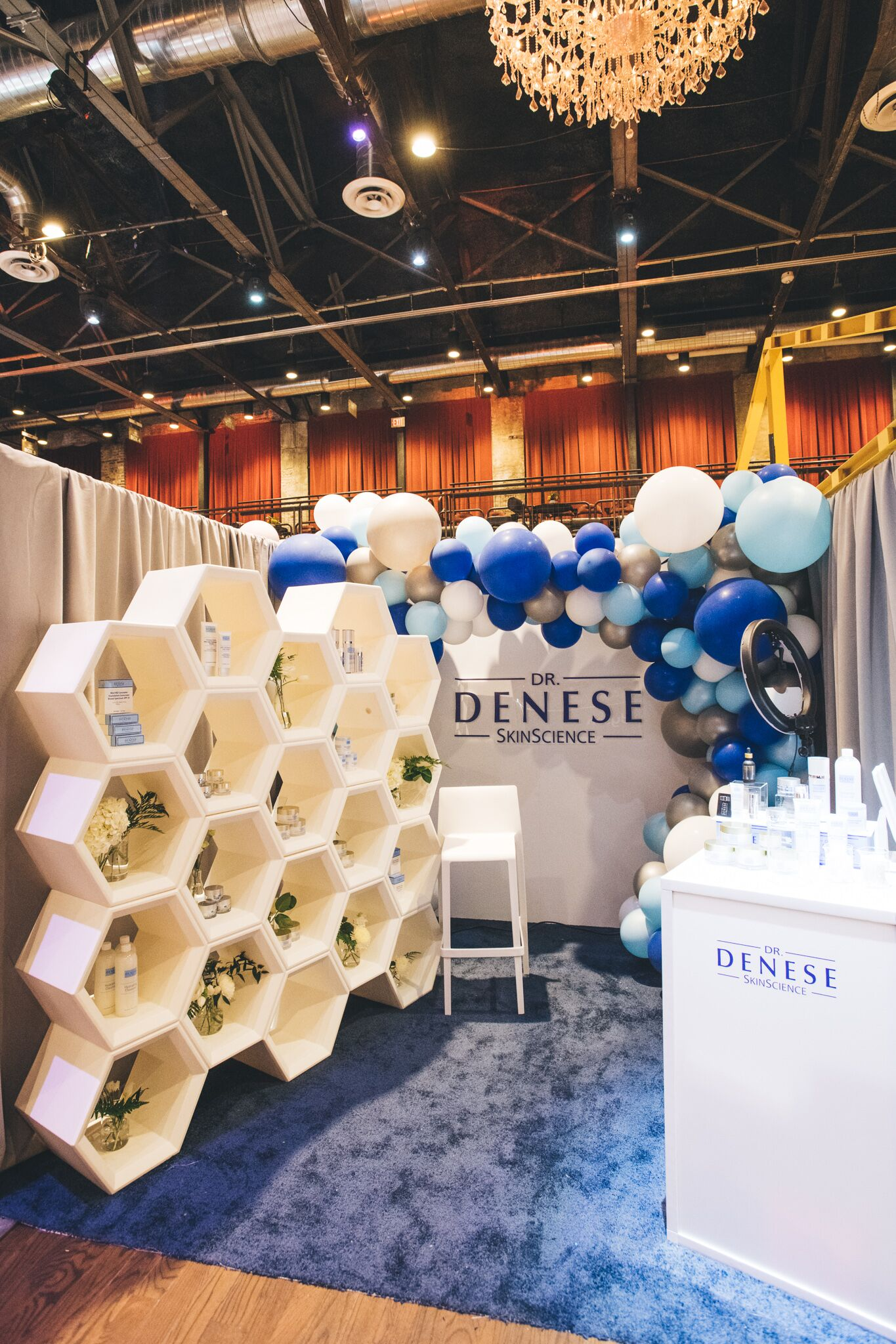 QVC Beauty Bash at The Fillmore, Booth Production for Dr. Denese. Photo: @DRUF