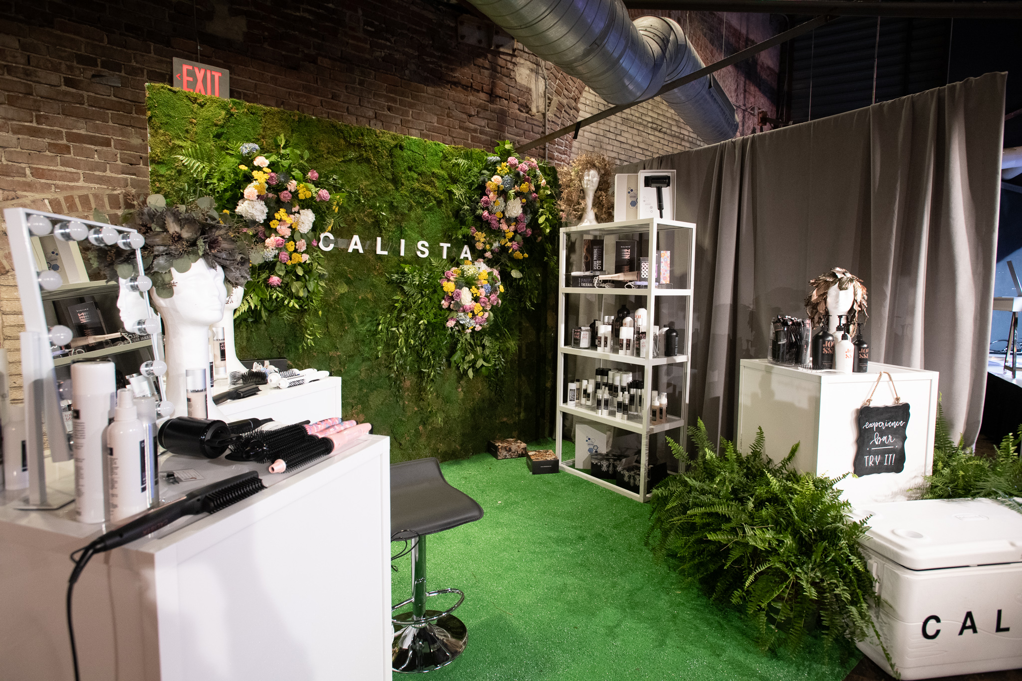 QVC Beauty Bash at The Fillmore, Booth Production for Calista. Photo: @DRUF