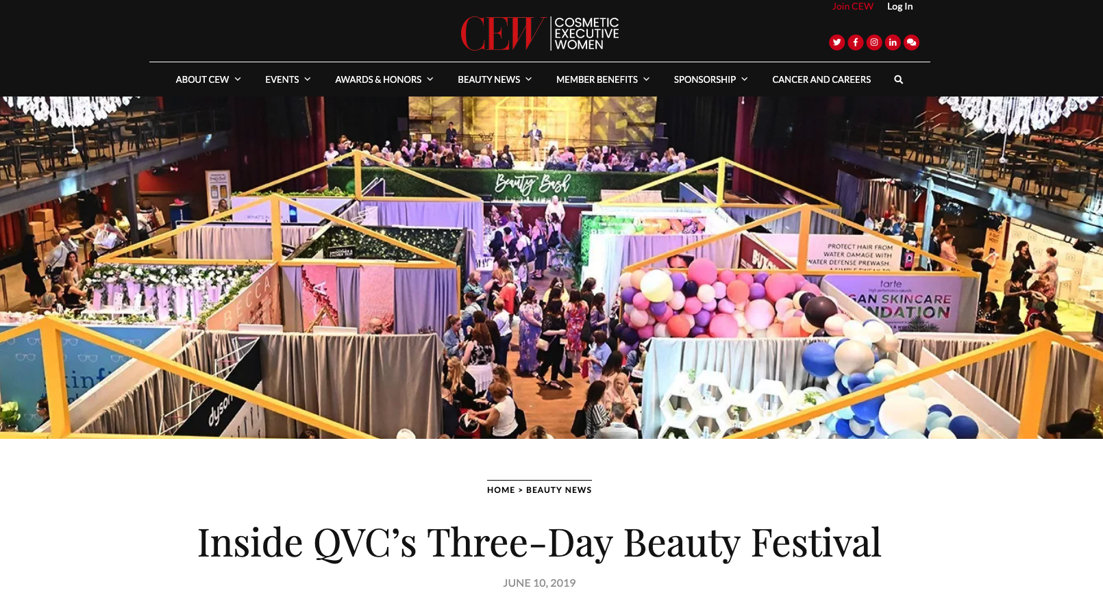 QVC Beauty Bash at The Fillmore in Philadelphia - Full Event Production.