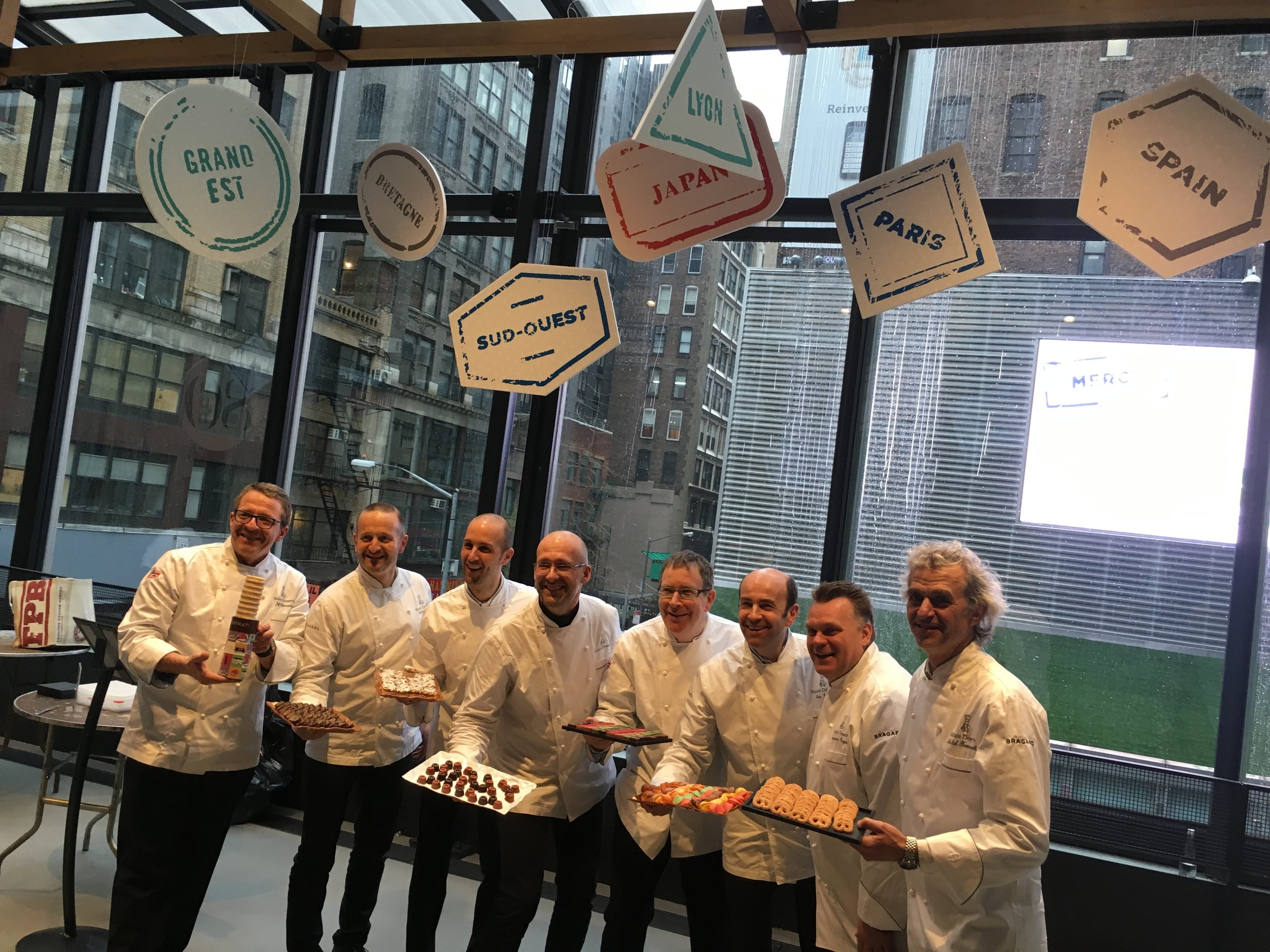 Around the World in 80 Sweets with Relais Chefs for City Harvest Annual Charity Event