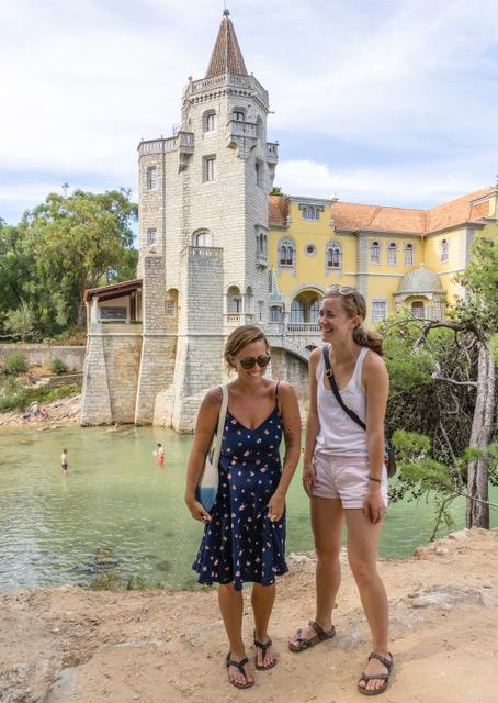 Maia and me inn Cascais, Portugal