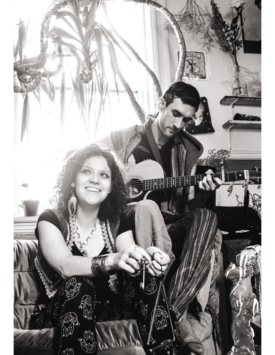 Christina Enigma and William Moon of Ky∆zMa. Photo credit: Mikel Marton