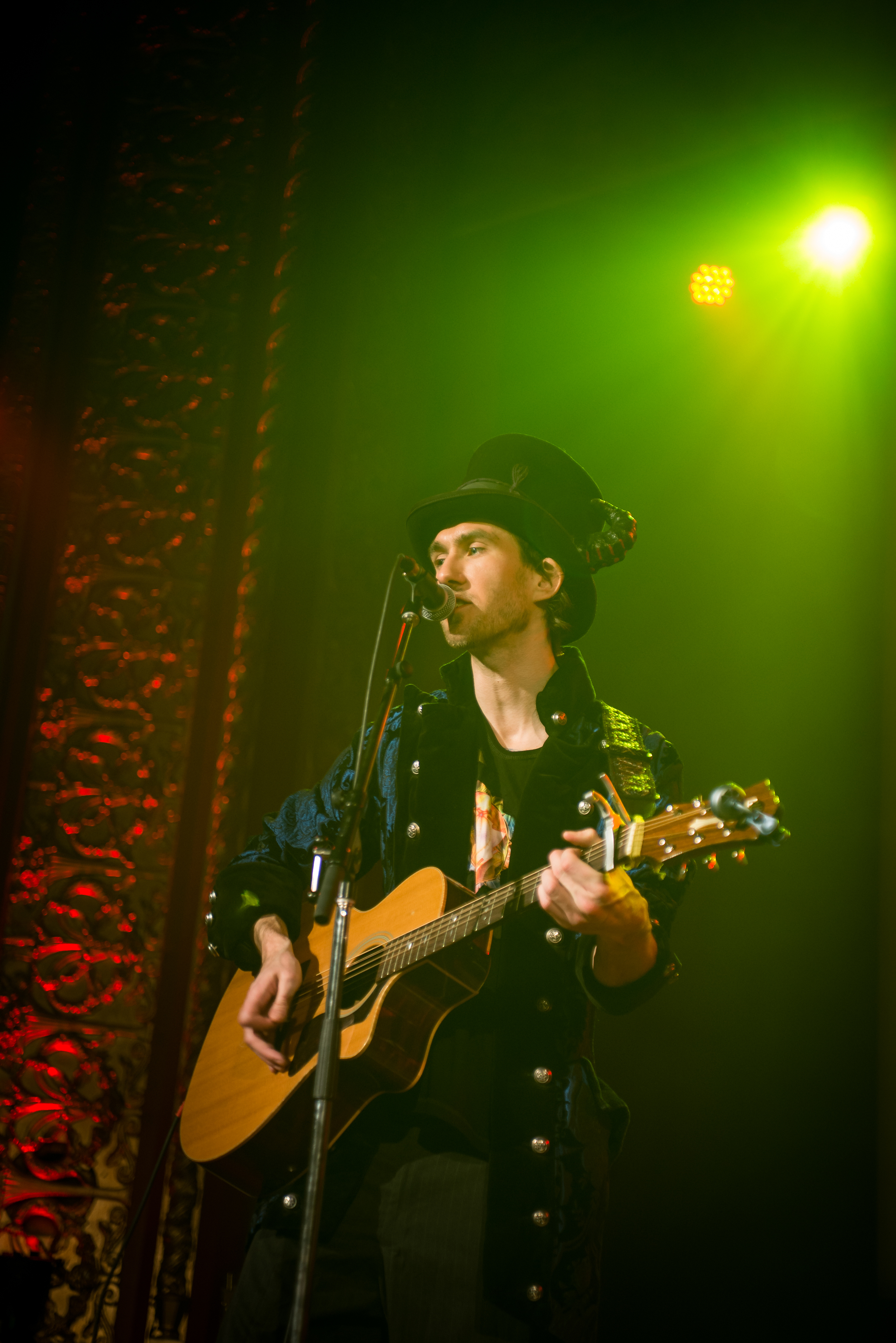 William Moon of Ky∆zMa (live at the RAW showcase at the Rialto Theater in Montreal, Quebec)