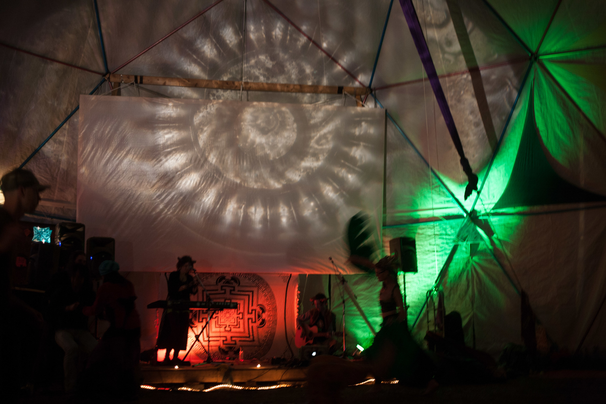 Ky∆zMa live at Solstice 2014 (Om Reunion Project). 2