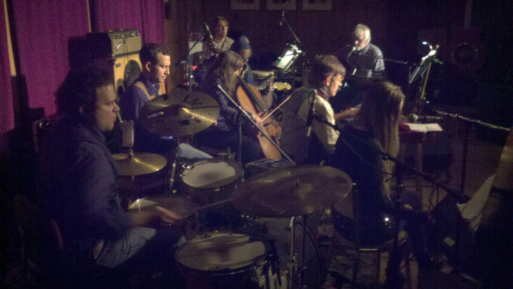Duke McVinnie Band (orchestra) featuring Malcolm Burn and Sandrine at The Bearsville Theater in Bearsville NY