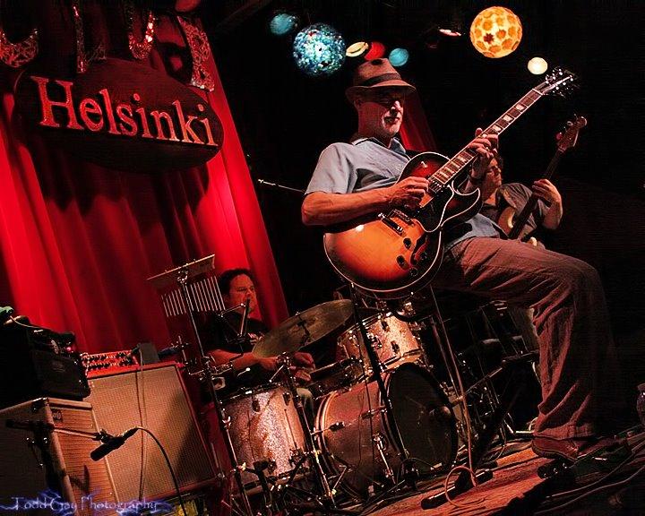 Manuel Quintana, Todd Nelson, Kyle Esposito at Club Helsinki in Hudson NY