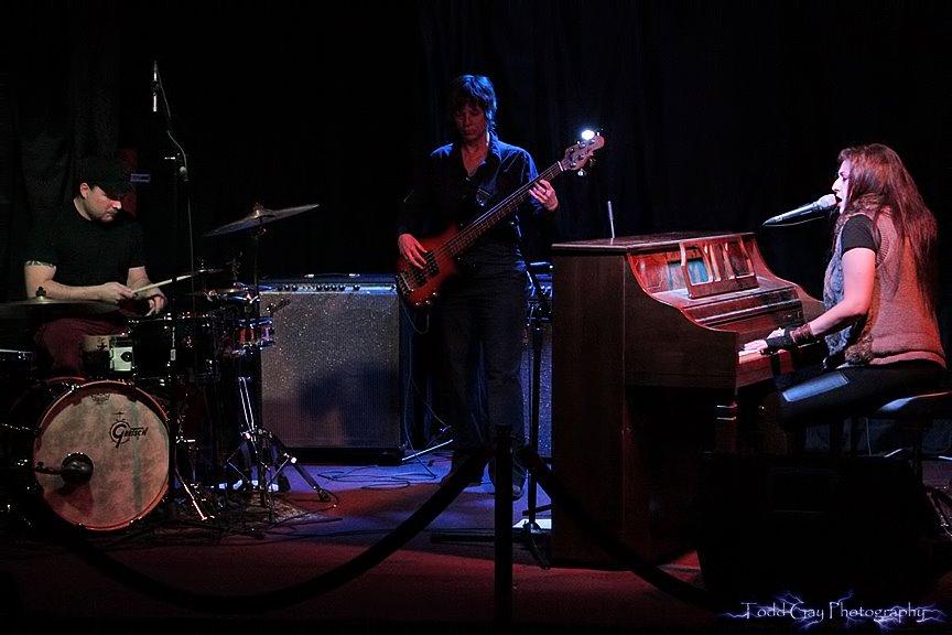 Sarah Fimm at BSP in Kingston NY. Featuring: Manuel Quintana and Sara Lee on bass.