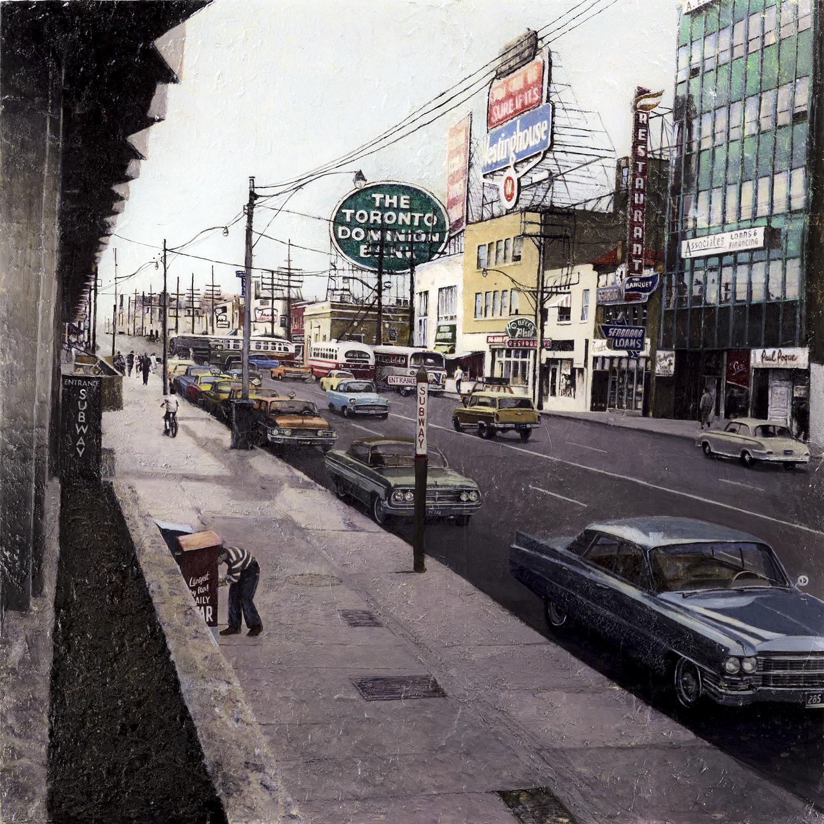 Yonge and Eglinton, 1963