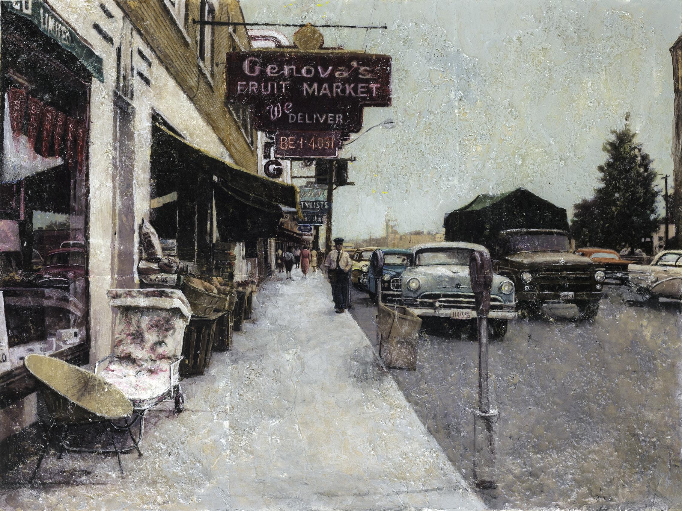 BLOOR STREET WEST, 1958
