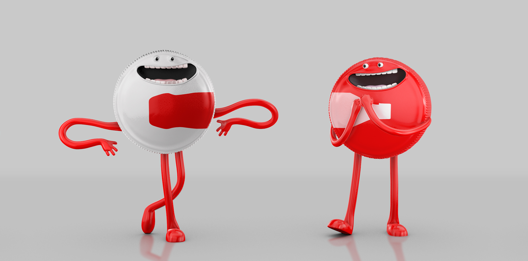 Coca Cola - Character Design