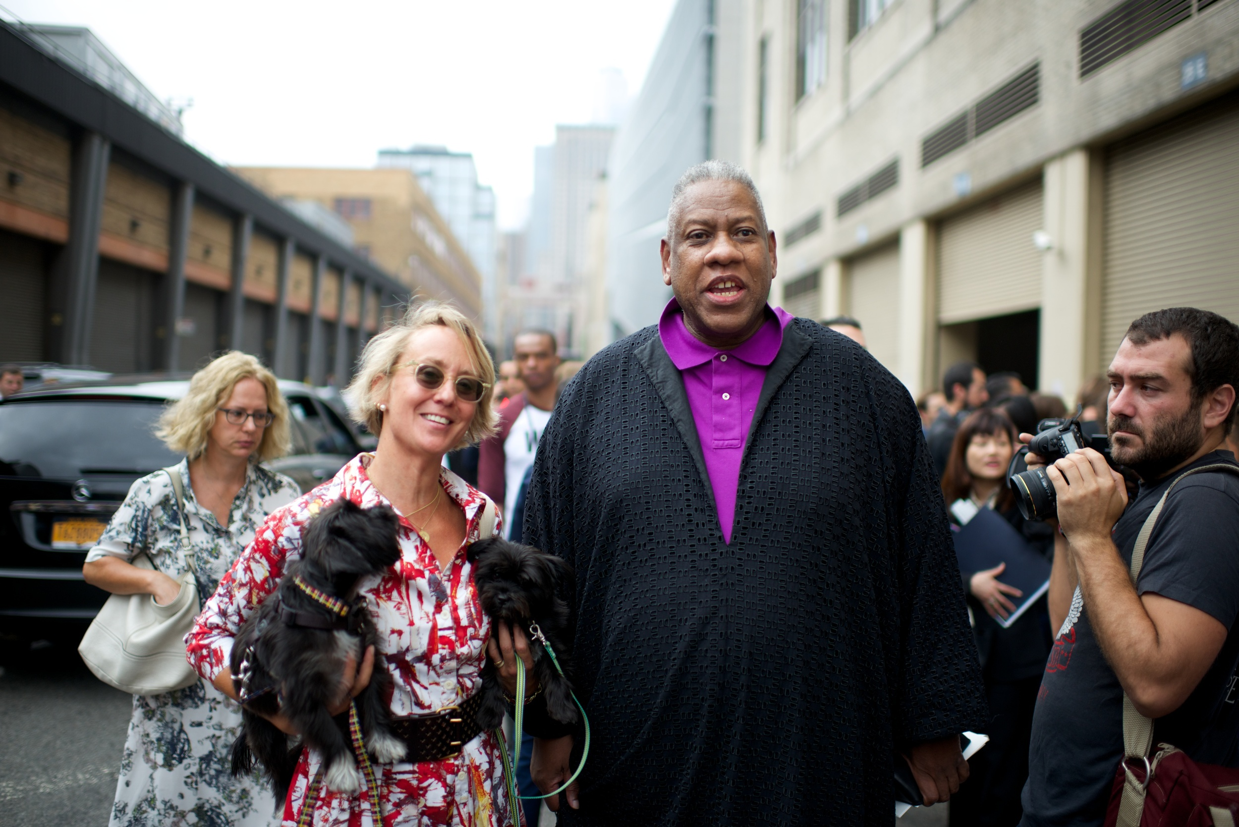 Mrs. Sizzle and Andre Leon Talley WAGGO