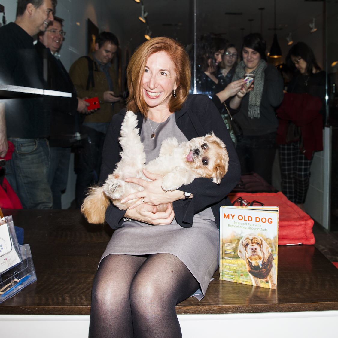Laura Coffey, the author of  MY OLD DOG