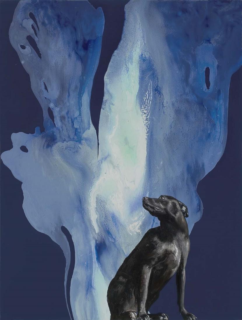 Phantasm, 2008, oil on wood, 66 x 50 in.