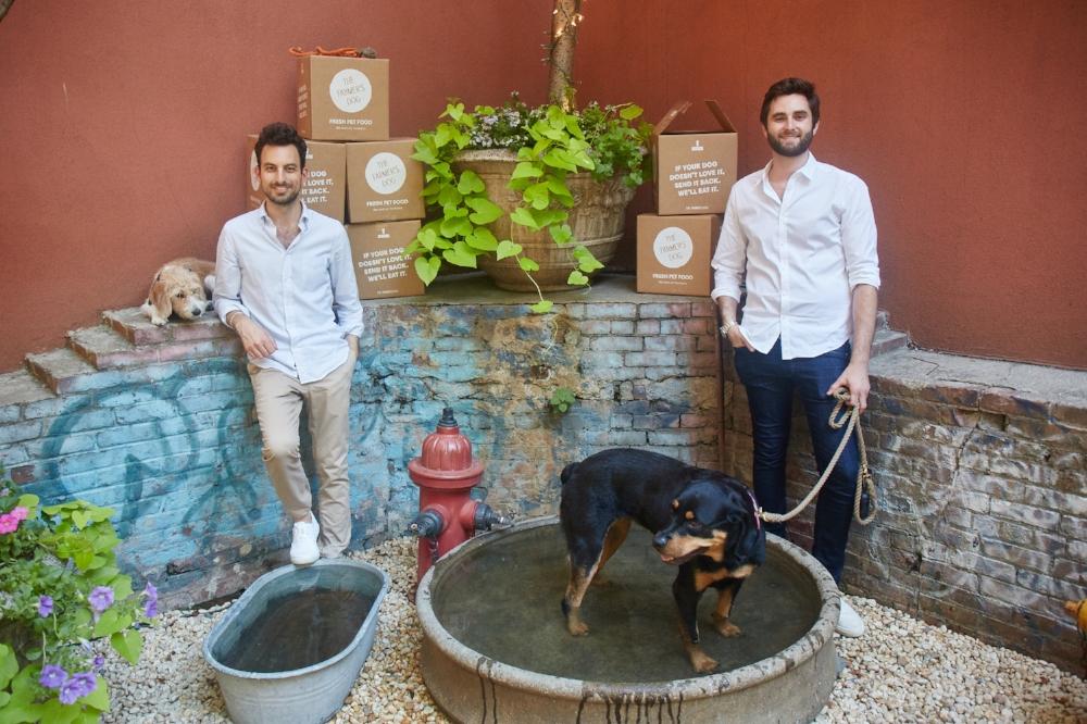 Jonathan Regev and Brett Podolsky the founders of The Farmer's dog