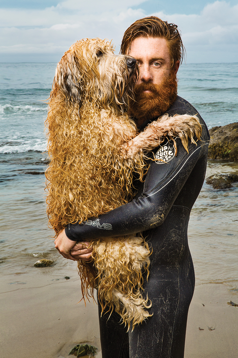Nick Tooman and his beast Russell