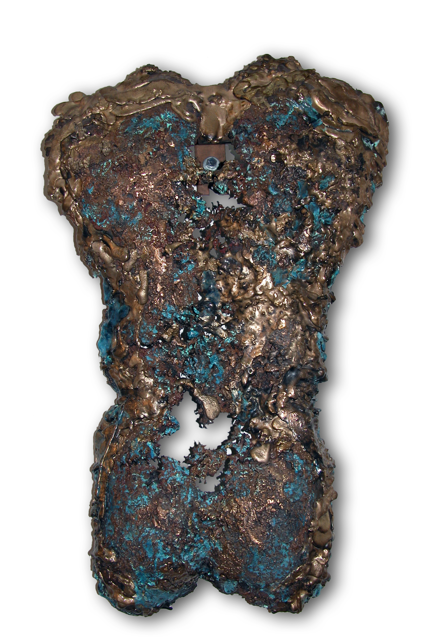 Eros V, 1999, Bronze, 33 x 19 x 4 inches Artist: Carole Feuerman