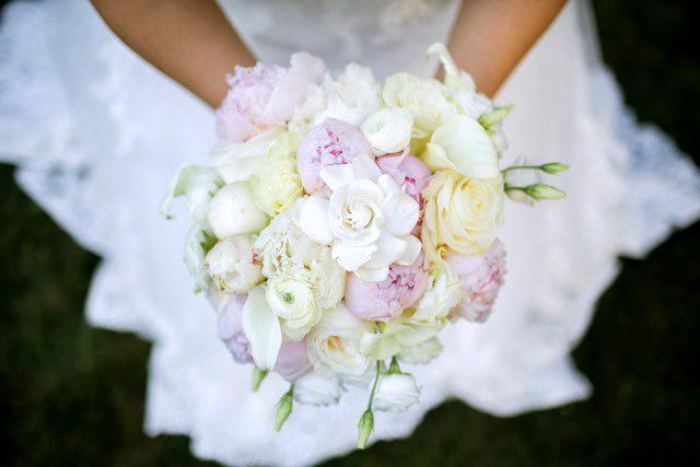 Gardenia Inspired Bridal Bouquet