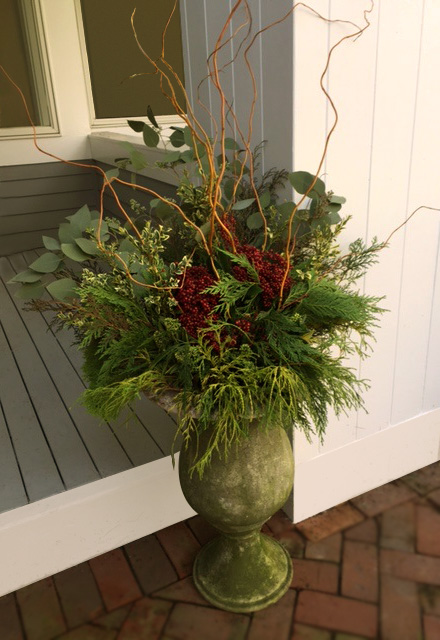 Lovely Holiday entrance display