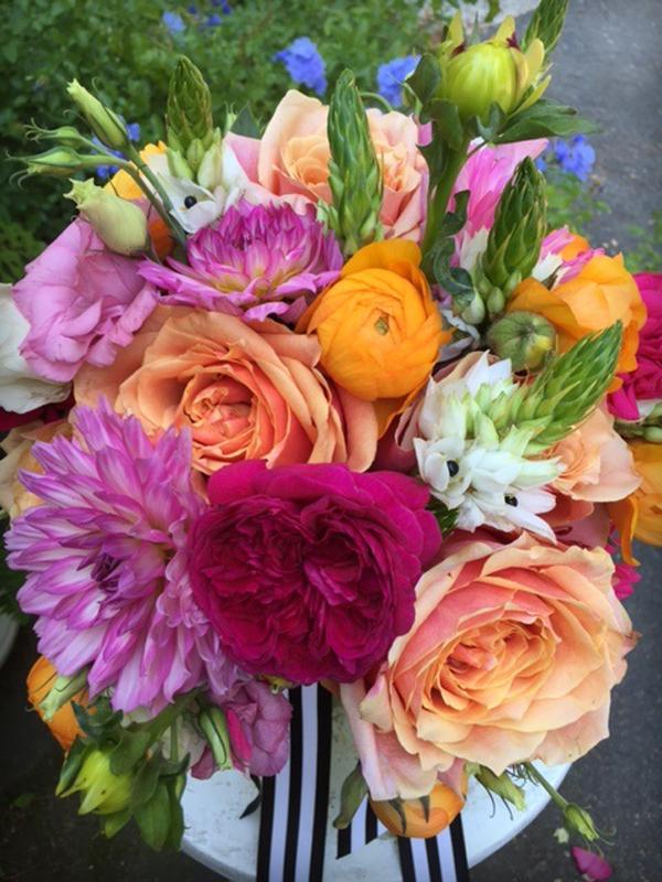 Orange & Coral Bouquet