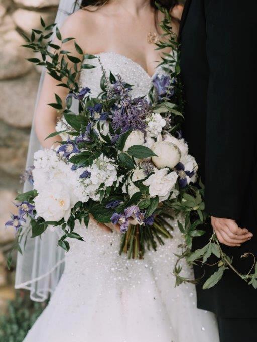 Iris Bridal Bouquet