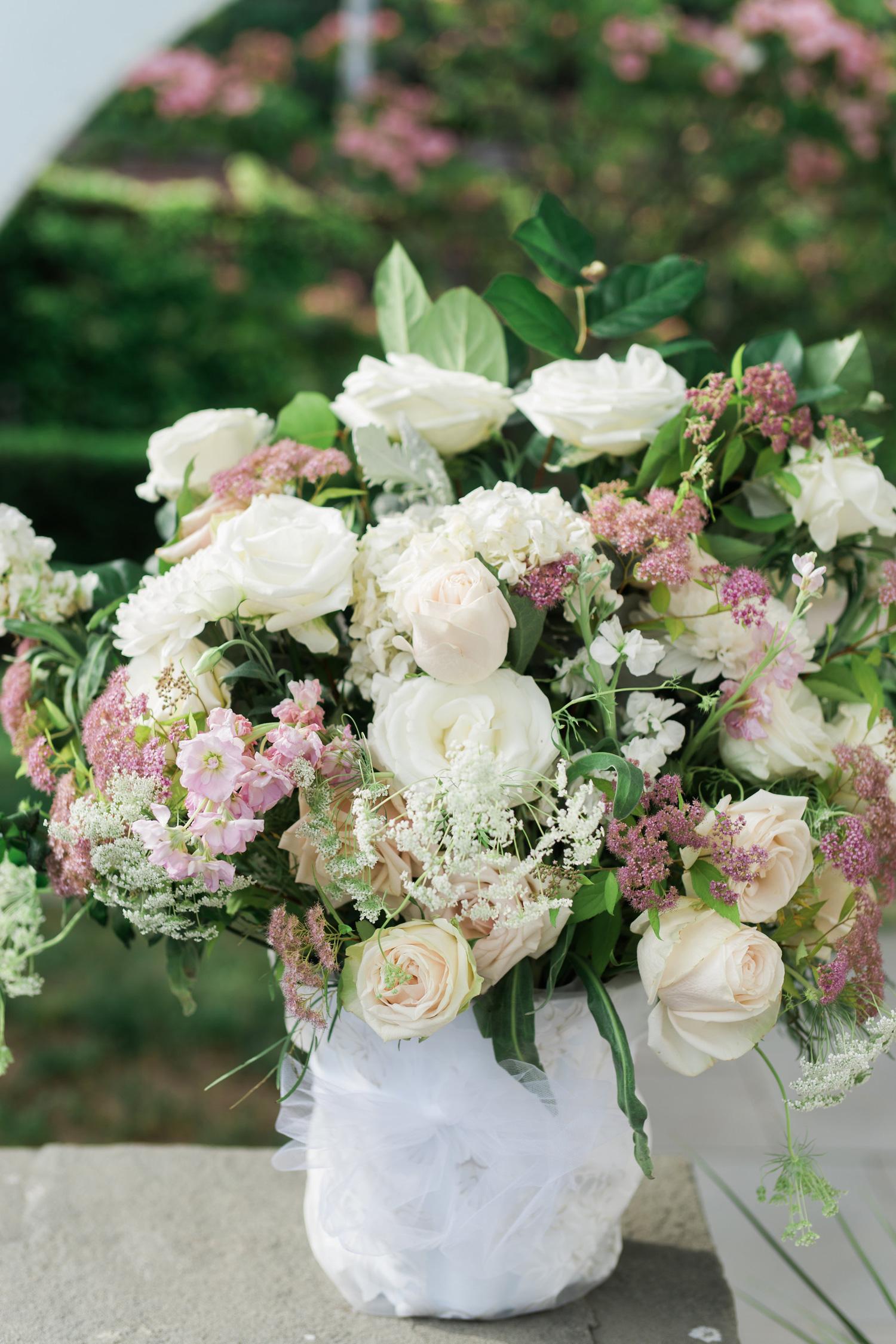 Misselwood Wedding Reception Centerpiece